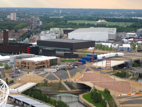 World's biggest McDonald's in London Olympic Park
