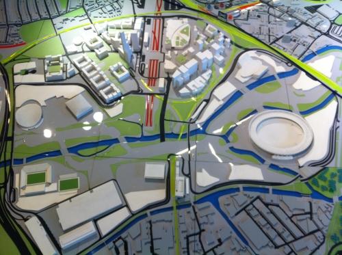 London 2012 Olympic Park model